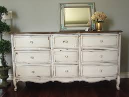 White Distressed Bedroom Furniture Antique White Dresser For Sale Bestdressers 2017