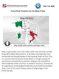 City Map Of Italy by Powerpoint Template For City Map Of Italy Authorstream