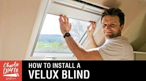 how to fit a velux blind youtube