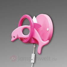 hängele kinderzimmer lustige kinderzimmer wandleuchte dolphin rosa kaufen lenwelt de