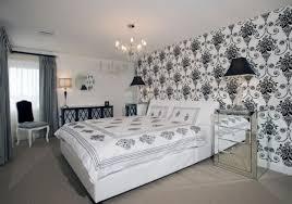 papier peint chambre à coucher le papier peint baroque et le style moderne classique