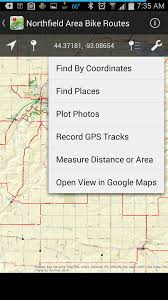 Find Map Coordinates Mn Bike Trail Navigator Gps Enabled Maps Now Available On Mobile