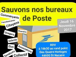 bureau de poste 16 nouveau rassemblement le 16 novembre au rond point des 4 horloges