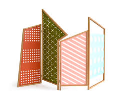 opto folding screen space dividers from colé architonic