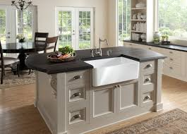 kitchen island with refrigerator outdoor kitchen island with sink bowl white ceramic apron