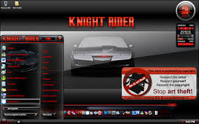 free download themes for windows 7 of car knight rider windows 7 theme by pauliewog260 on deviantart