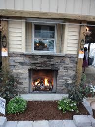 outdoor fireplace insert binhminh decoration
