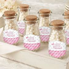 peanut baby shower peanut milk bottle jars personalized baby shower favors