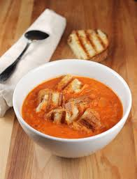 ina garten tomato ina garten s easy tomato soup grilled cheese croutons food gal