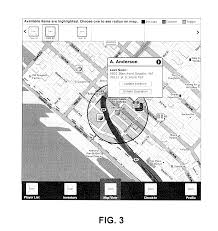 Radius On Map Patent Us20130196773 Location Services Game Engine Google Patents