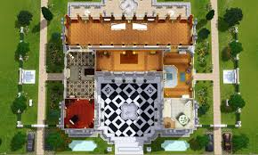 Palace Place Floor Plans Mod The Sims Versaillesque A Summer Palace