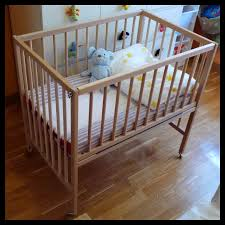Ikea Mini Crib Sniglar Crib Co Sleeper Crib Babies And Nursery