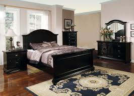 Bed Sets Black Angelic Decorating Ideas Using Rectangular Black Wooden Dressers