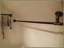 wardrobe racks amusing wall mount clothes rod closet rod bracket