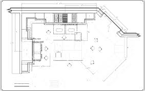 kitchen commercial floor plans free cadkitchenplanscom