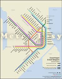 Metro Rail Map by Copenhagen S Train U2014 Map Lines Route Hours Tickets