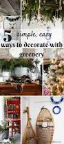 5 ways to use free greenery for winter u0026 holiday decor the