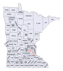 mn counties map national register of historic places listings in minnesota