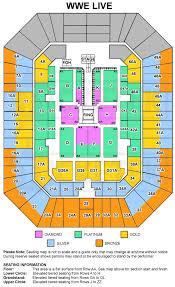 sydney entertainment centre floor plan wwe live touring australia in 2015