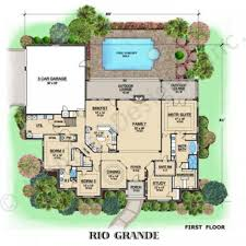 High End House Plans by Rio Grande Ranch Style House Plan Luxury House Plans