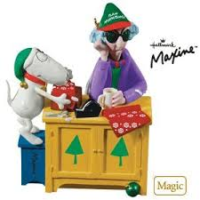 bah humbug maxine 2010 hallmark ornament home kitchen