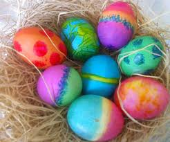 easter dying eggs image colorful dyed easter eggs jpeg family recipes wiki
