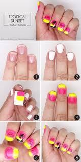 26 best summertime nail art images on pinterest make up pretty