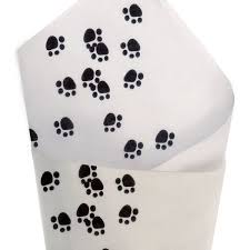 paw print tissue paper tissue printed tissue premier packaging