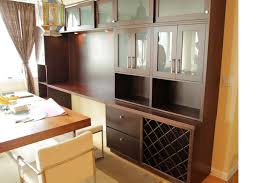 Display Hutch Handmade Contemporary Post Modern Dinning Room Built In Hutch And