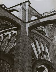 charles sheeler chartres flying buttresses at the crossing