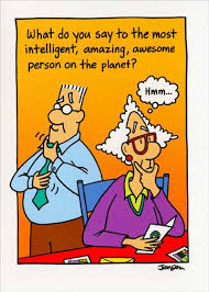 intelligent amazing awesome person funny humorous birthday