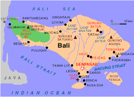 bali indonesia map map of syria