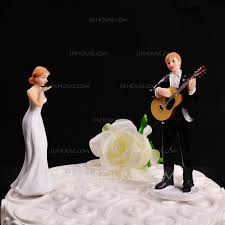 guitar cake topper figurine play guitar for you resin wedding cake topper