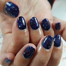 nail designs dark blue beautify themselves with sweet nails