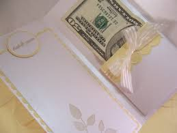 wedding money much money to give in a card