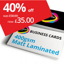500 Business Cards Double Sided Cards 35