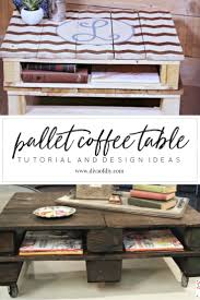 Pallet Coffee Tables How To Make The Perfect Pallet Coffee Table
