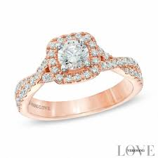 Rose Wedding Ring by Vera Wang Love Collections Zales