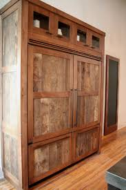 Barnwood Kitchen Cabinets Barnwood Cabinet Doors Barn Door Distressed Wood Cabinet By The