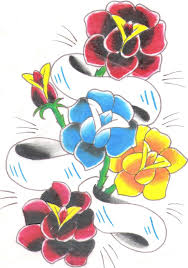 free tattoo designs of flowers