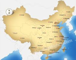 map of china china map maps of china s top regions cities and