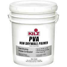 kilz 5 gal oil based white interior exterior low voc primer