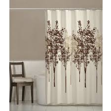 Owl Fabric Shower Curtain Brown Shower Curtains Interior Design