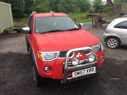 mitsubishi l200 raging bull pick up 2007 for sale 148 000 miles