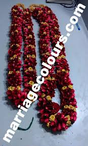 flower garlands for indian weddings orange and green dots garland south indian wedding garland designs
