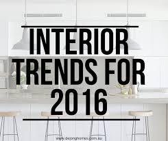 Home Interior Design Trends 2016 Interior Design Trends De Jong Homes Wagga Builders