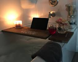 laptop bathtub bathtub tray etsy