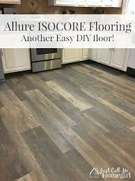 Easy Flooring Ideas Allure Isocore Diy Flooring Just Call Me Homegirl