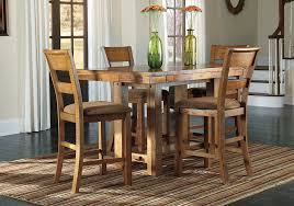 high top dining table for 4 krinden counter height dining table and 4 chairs louisville