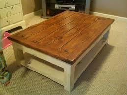 White Wash Coffee Table - the modern white washed wood coffee table house decor how to